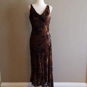 Fall Nine West maxi dress